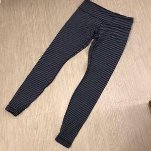 Lululemon striped leggings 8